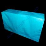 Салфетки 33х33 Z-BEST 200шт 2сл. голубые