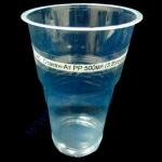 Стакан-Ат РР 500мл (3,8)прозрачный 50шт пивной