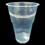 Стакан-Ат РР 500мл (4,5) прозрачный 50шт пивной