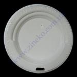 Крышка РЕ д/стакан (бум. 400(500)мл) 100шт белая
