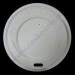 Крышка Д-90 100шт д/стакана (бум. 500мл) белая