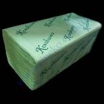 Салфетка-вкладыш Кохавинка-V сложение 26*25,3 200шт оливковые Ук