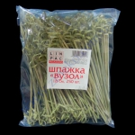 Шпажка Узел-18см 250шт бамбук Кит