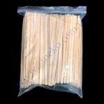 Палочка-мешалка 12см деревянная 1000шт (36/я)