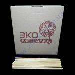 Палочка-мешалка 12см ЭКО деревянная 1000шт в карт. уп. (20/я)