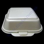 Сендвич-бокс HB-6-W белый 15*15*7см без делений 500шт