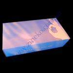 Перчатки-45054 винил+Пудра прозрачные в боксе р.L 100шт