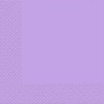 Салфетки 33х33 Марго 3сл 20шт светло-фиолетовые ЭКОНОМ