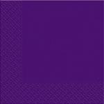 Салфетки 33х33 новая Марго 50шт 2сл фиолетовые
