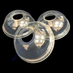 Крышки с отверстием ПЕТ(для стакана 300,400,500мл) 100шт d=9,5см