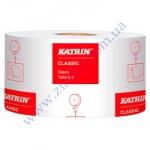 Туалетная бумага Катрин 106108 d=19см 2сл целлюлоза 200м