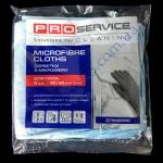Микрофибра для стекла PRO-18301600 5шт для стекла, зеркал универ