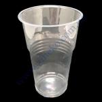 Стакан Атем РР 500мл (3,5) прозрачный 50шт пивной