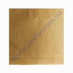 Пакет бумажный 15х14см для бургера 2000шт (крафт бурый)