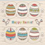 Салфетки 33х33 Happy Easter Марго 20шт