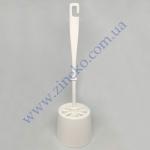 Комплект для унитаза WC Эко d=9,5см пластик (белый мрамор) 60/я
