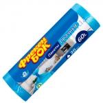 Мешки для мусора ФБ 60х70см 20мк 60л 20шт синие