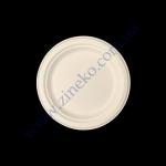 Тарелка бумажная СТ d=17см белая 125шт Р07