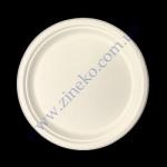 Тарелка бумажная СТ d=26см белая 125шт Р11