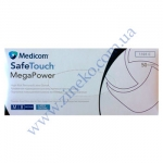 Перчатки Мед-1101-С Mega Power(High Risk) латекс 13.5г р.M-8