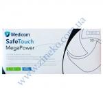 Рукавички Мед-1101-D Mega Power (High Risk) латекс 13,5г т.Сині