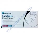 Рукавички Мед-1101-E Mega Power (High Risk) латекс 13,5г т.Сині