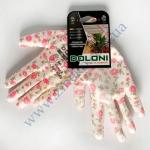 Рукавички 4560 трикотажні з поліуретан. покриттям неповн. облив-