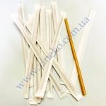 Трубочки бумажные (инд. бум. упак) Крафт 19,7см 100шт прямые КN-