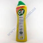 СІФ лимон чист. крем д/плит, нерж, сантехн з природними компонен