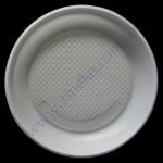 Тарелка d=20,5см белая 100шт 0002 ОРН ХРК